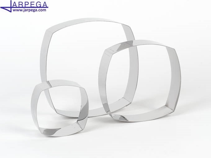 Форма Tart ring square convex 20х20х4 см 500230 | Jarpega Испания